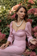 Сукня бюстьє рожева