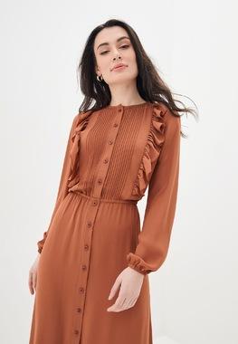 Сукня Теракотова рюша