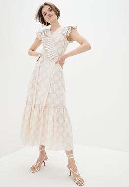 Платье Дерево Бежевое