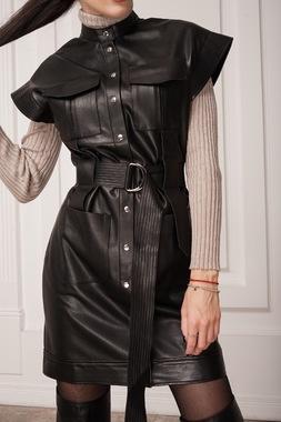 Платье - Рубашка - Чорная