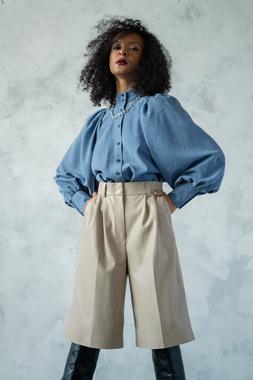 Блуза денім