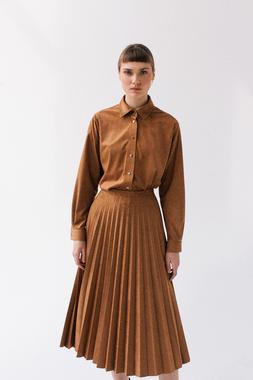 Блуза кемел