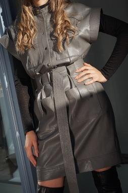 Сукня - Блуза - Сіра